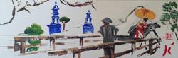 Geiko en pousse-pousse -2015