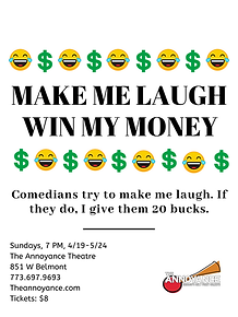 Make Me Laugh Win My Money