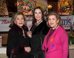 Seydel Cabrera, Lourdes Tudela y Nieves Mayo-2
