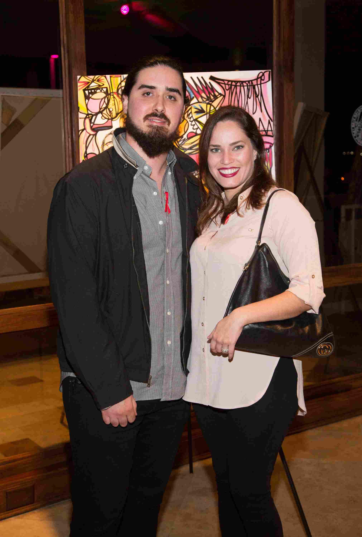 Artist Joey y Rebeca Diez-53