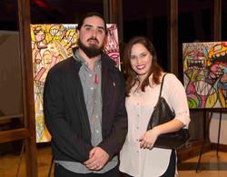 Artist Joey y Rebeca Diez-52