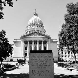 Abandoned Statue, Madison, WI, 2020