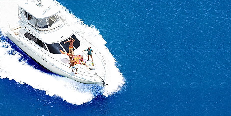 Motor yacht charter, yachting holiday