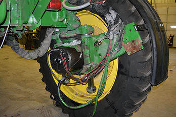 wheel motor, tractor motor