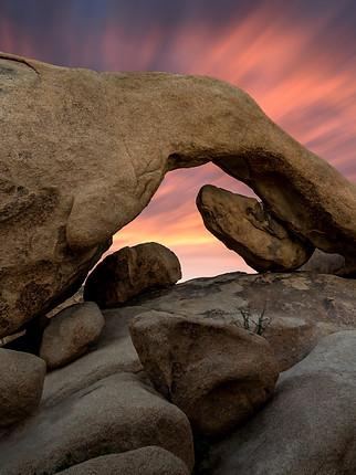 Rock Arch Sunrise