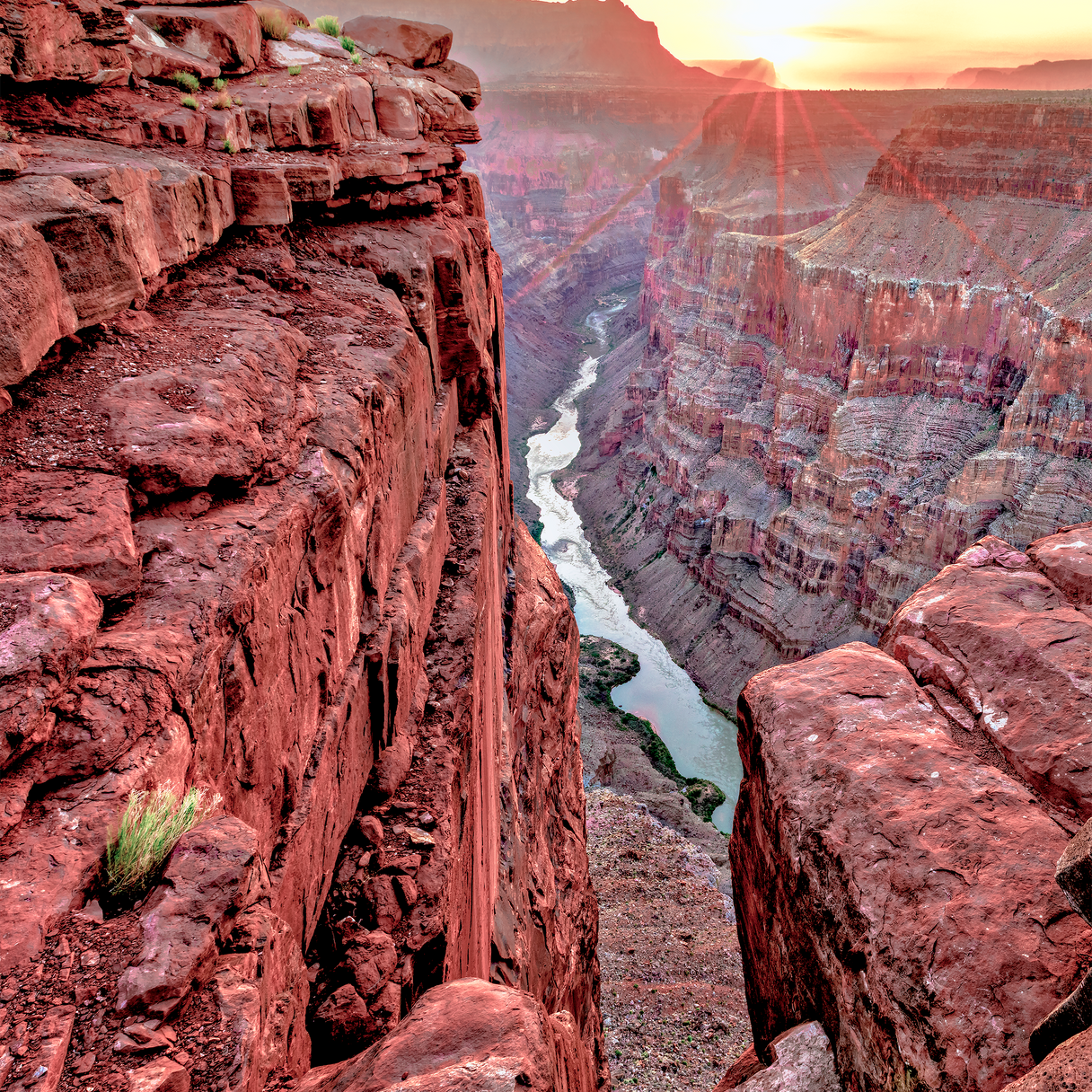 The iconic view of the Toroweep Overlook