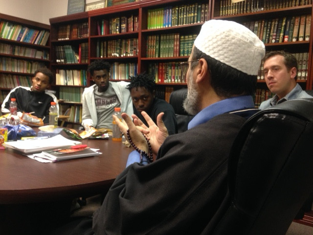 SCA students vist Islamic Center of Western MA