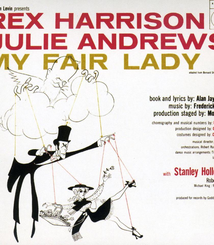1956 Original Cast Album Artwork