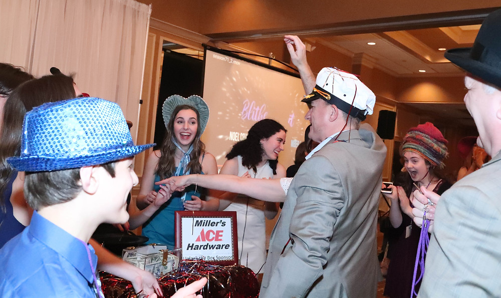 "Fan fave ""Unlock the Box"" making a valiant return since last year's Hats-Off Gala!"