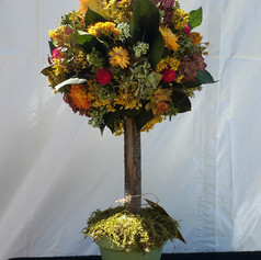 Dried Flower Topiary