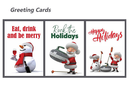 Curling Cares Holiday Set