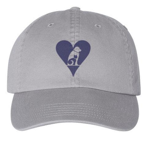 GHS heart - dad hat (champion)
