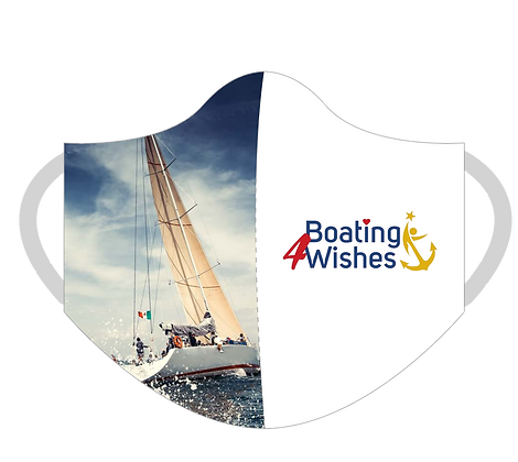 Boating 4 Wishes Masks