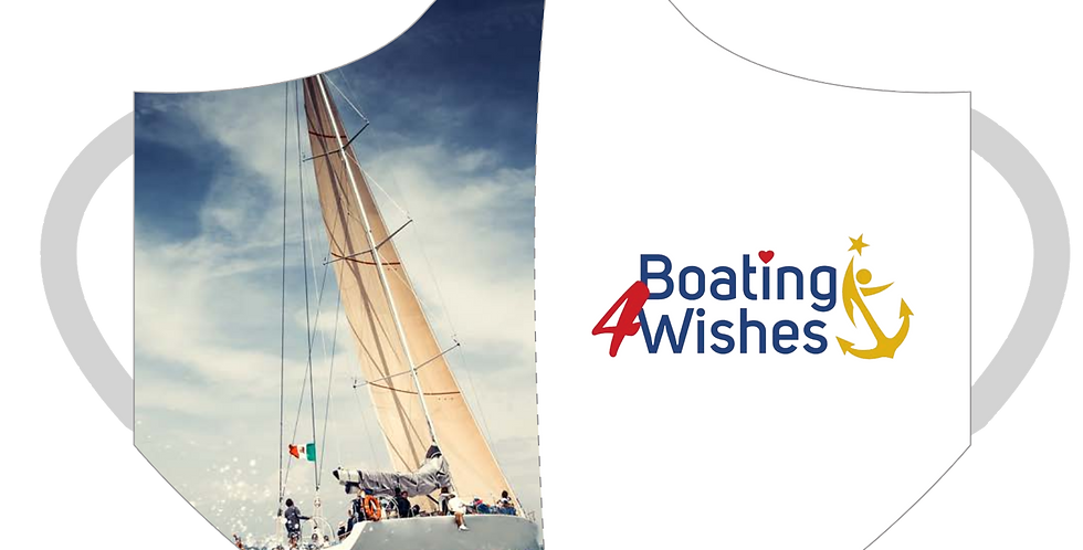 Boating 4 Wishes 3-Ply Masks