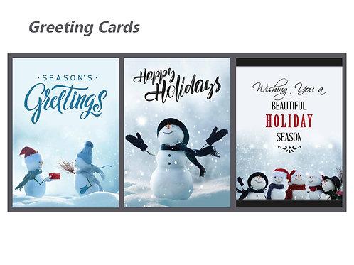 Snowman Holiday Set