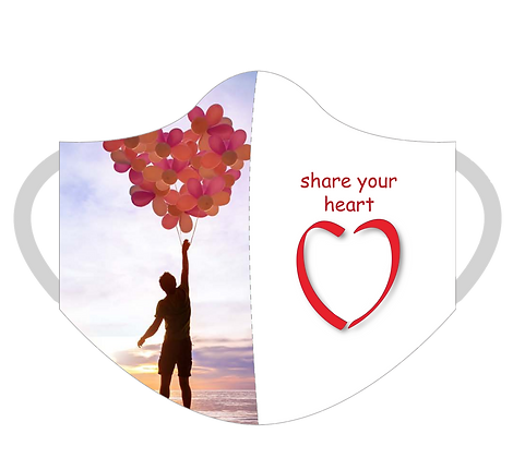 Share Your Heart Mask