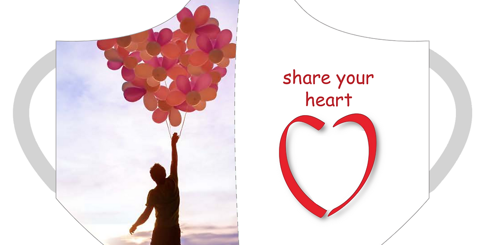 Share Your Heart 3-Ply Mask