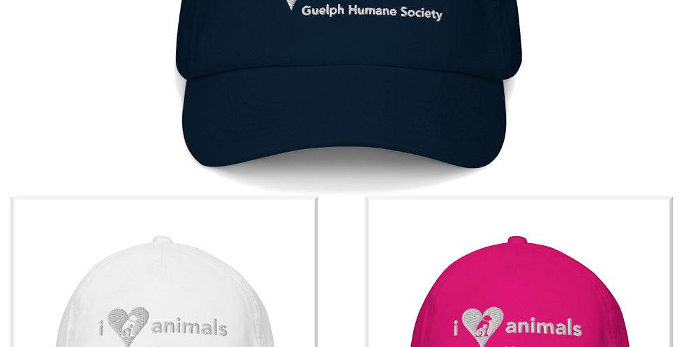I HEART ANIMALS Kids cap