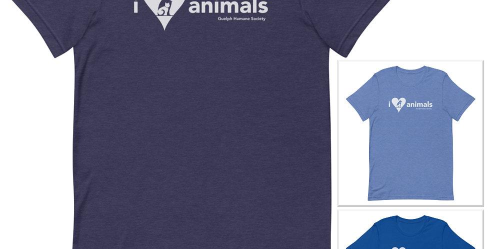 I HEART ANIMALS <white label>