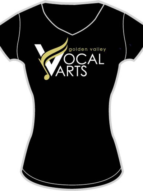 Ladies V-neck T-shirt