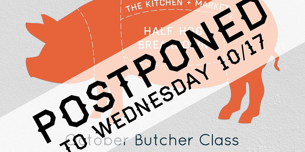 Butcher Class - Half Hog Breakdown