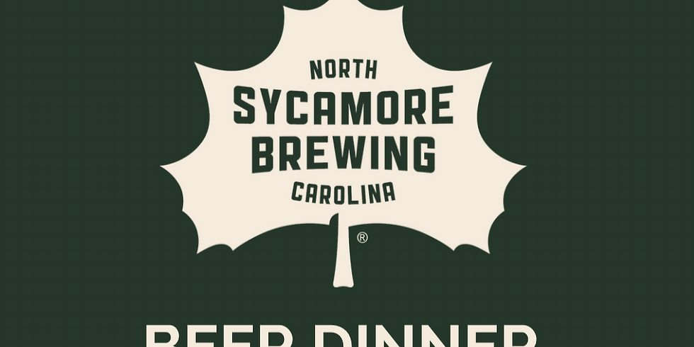 Sycamore Brewing Beer Dinner