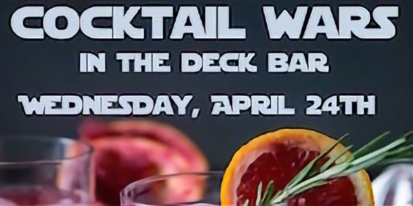 Cocktail Wars In The Deck Bar