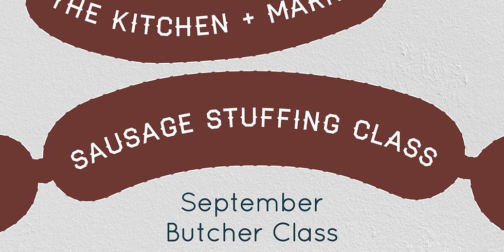 Sausage Stuffing - Butcher Class