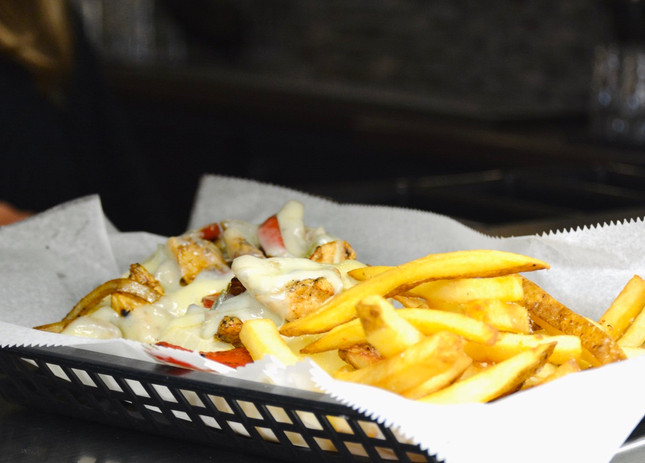 Fries + Chicken Philly