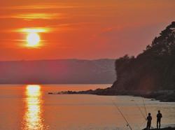 Seaton at Sunset