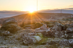 Sunrise on Caradon Hill