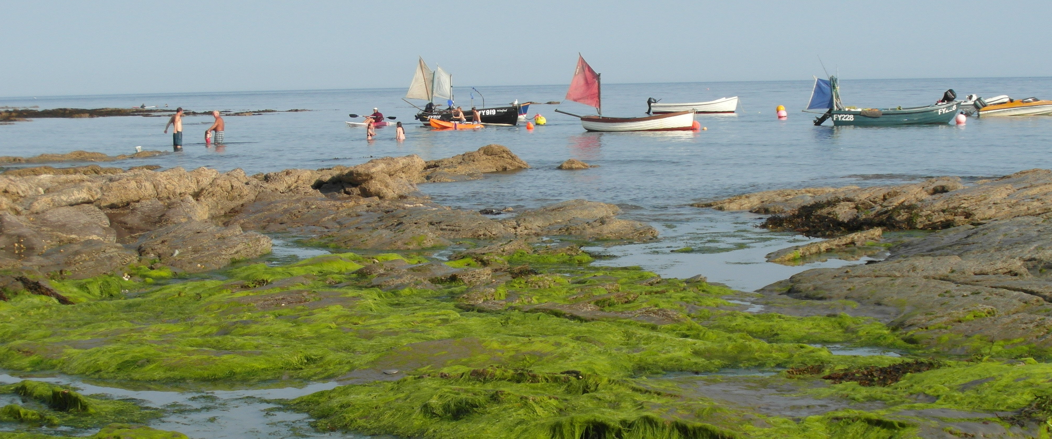 Downderry at Low Tide