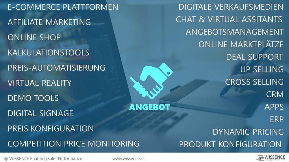 Technologie im Vertrieb: Angebotsphase