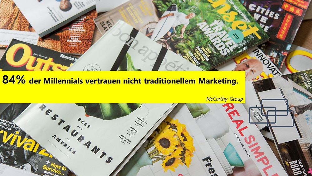 Millennials Werbung
