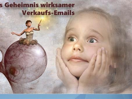 Das Geheimnis wirksamer Verkaufs-Emails