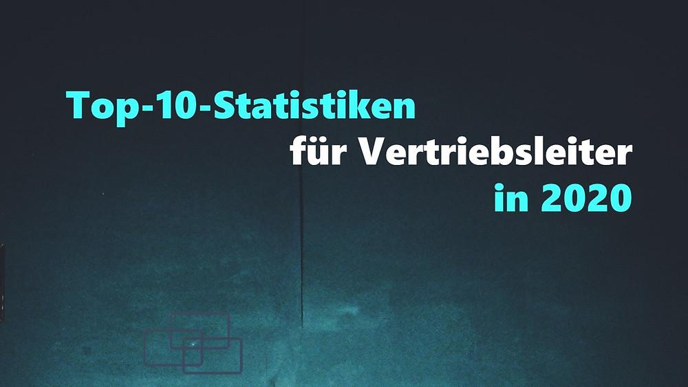 Vertrieb Studien Statistik