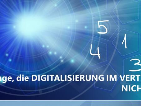 Digitalisierung im Vertrieb: 5 Dinge, die es NICHT ist