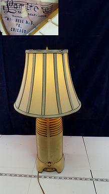 1941 Original Mitchell Lumitone Rocket Lamp Radio - Works