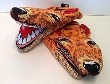 tasmanian tiger souvenir oven mitt