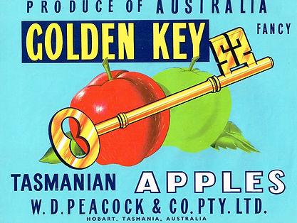 Tasmanian-apple-labels-golden-key-plain