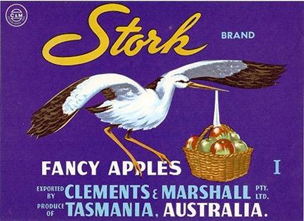 tasmanian-apple-labels-stork-brand