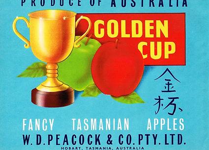 Tasmanian-apple-label-golden-cup