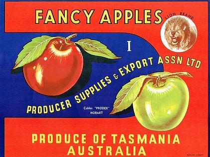 Tasmanian-apple-labels-lion-brand