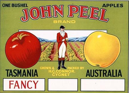 tasmanian-apple-label-john-peel
