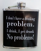 alcohol humour hip flask