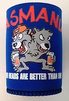 tasmania two heads souvenir can cooler