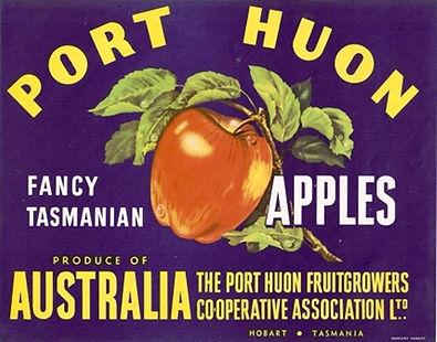 tasmanian-apple-label-port-huon-dark-blu