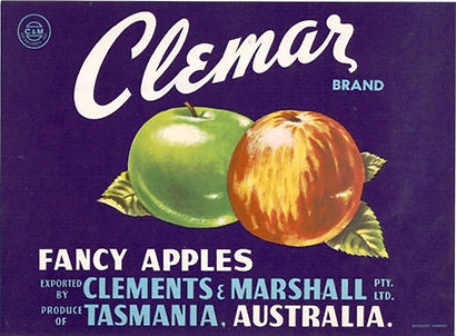 Tasmanian_apple_label_clemar_watermark_A