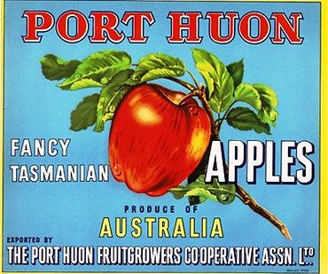 Tasmanian-apple-label-port-huon-light-bl