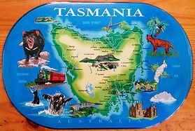 Tasmanian_souvenir_kids_placemat_map_of_